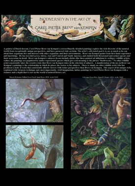 Biodiversity In the Art of Carel Pieter Brest van Kempen