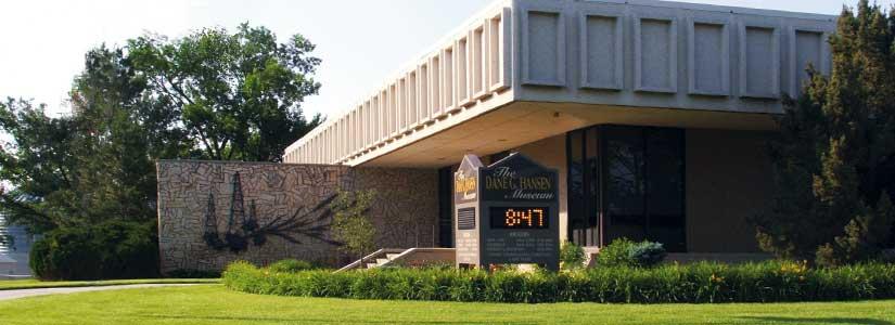 The Dane G. Hansen Memorial Museum, Logan, KS