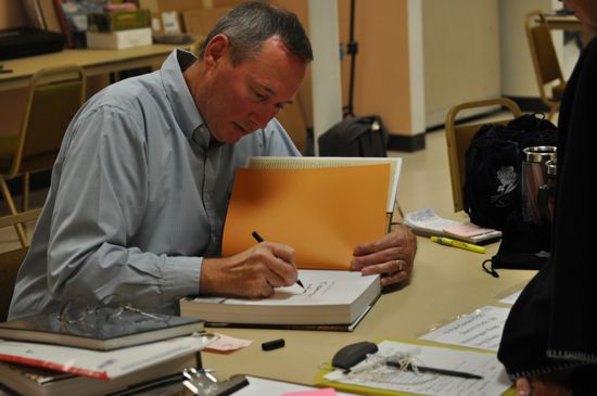David J. Wagner Book Signing 2010 SKBF Workshop Dubois
