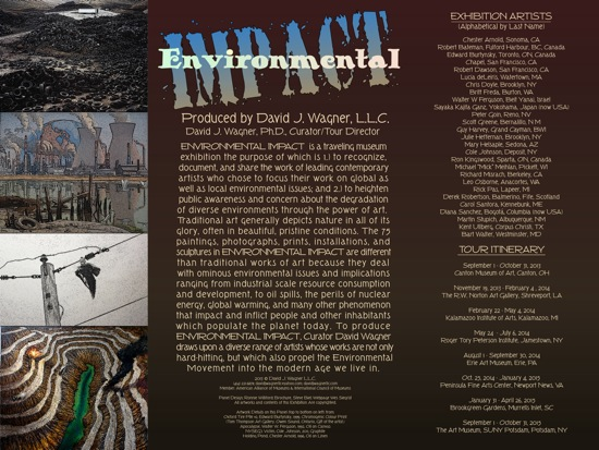 Environmental Impact Exhibition Title Panel