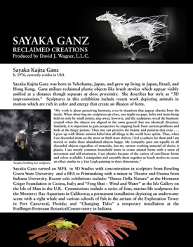 SAYAKA GANZ RECLAIMED CREATIONS