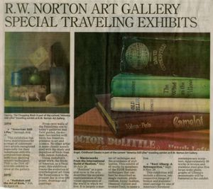 RW Norton's Upcoming Exhibitions 2014-2015 Featuring AMERICAN STILL LIFES
