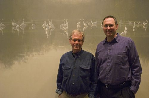 Robert Bateman with David J. Wagner