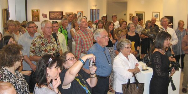 Sea of Cortez Exhibition Opening photos