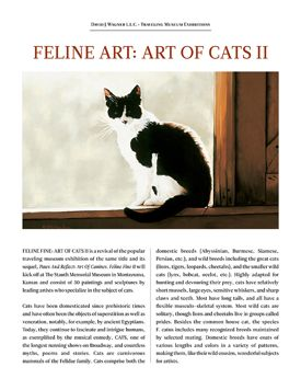 FELINE FINE II: ART OF CATS