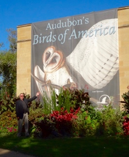 Dr. Wagner at John James Audubon's Birds Of America